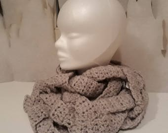 Braided crochet Snood