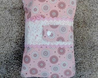 Diaper Bag, Diaper Clutch, Pink