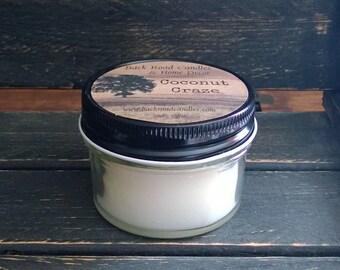Coconut Craze 4 oz. Canning Jar Candle