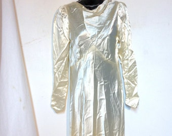 1930s Wedding Gown Antique Wedding Gown Size S