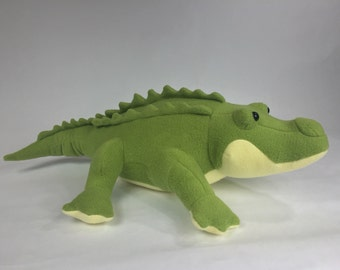 Alligator, Stuffed Alligator, Alligator Plushie, Plush Alligator, Alligator Stuffed Toy, Alligator Plush Toy, Stuffed Animal Alligator