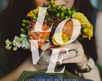Everyday Love Cards perfect for Birthday, Anniversaries, Just Because buy any 3 and get a 4th free. Includes ALL cards!