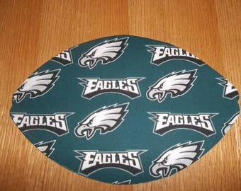 Mouse Pad, Philadelphia Eagles, Mouse Pads, Mousepad, Desk Accessories, Mouse Mat, Office Decor, Football Shape, Computer Mouse Pad
