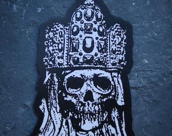 Skeleton king - Fridge magnet
