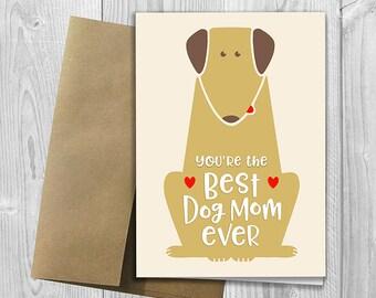 Best Dog Mom Ever Etsy