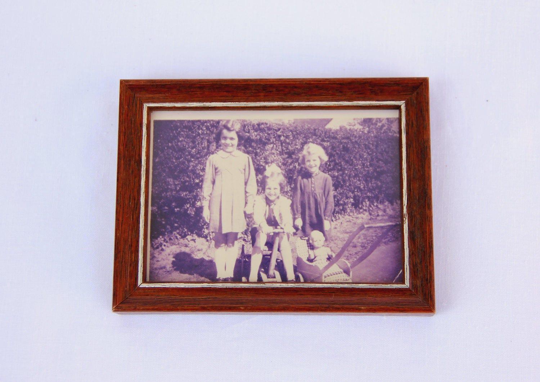 seltene Bilderrahmen Wohnkultur alte Foto Rahmen aus Holz