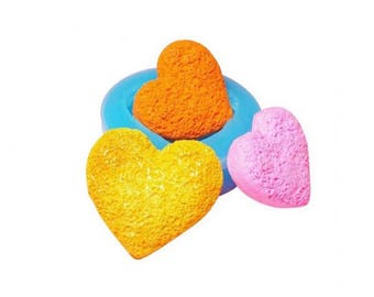 Miniature heart cookie mold