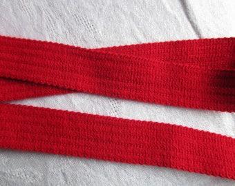5 m Band rot Gurt und 2,5 cm Höhe