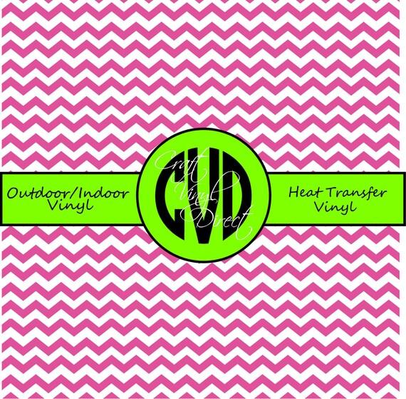 Chevron Craft and Heat Transfer Vinyl \\ Small Scale