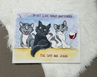 Personalized Cat Painting