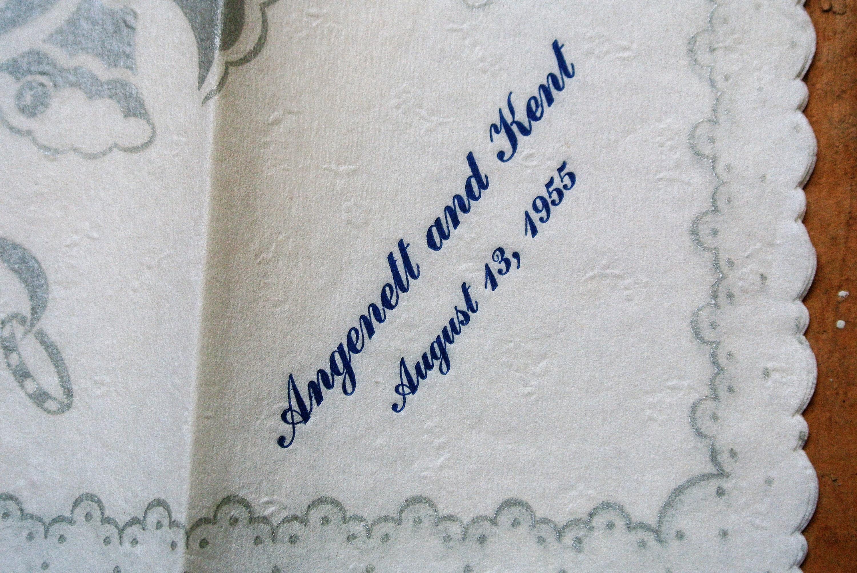 Vintage wedding anniversary card pack circa junk journal