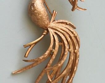 Vintage signed Avon Figural Bird
