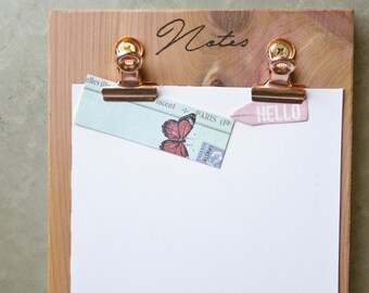 Clip Board: Notes, To Do List, Grocery list & Idea Organizer