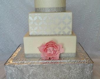 Cake Stand Cupcake Stand Wedding Cake Stand Gold Cake Stand Wedding Centerpiece Cake Plate Square Cake Stand 21st Birthday Anniversary