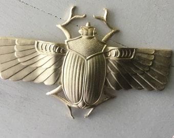 Egyptian Scarab stamping 1 pc