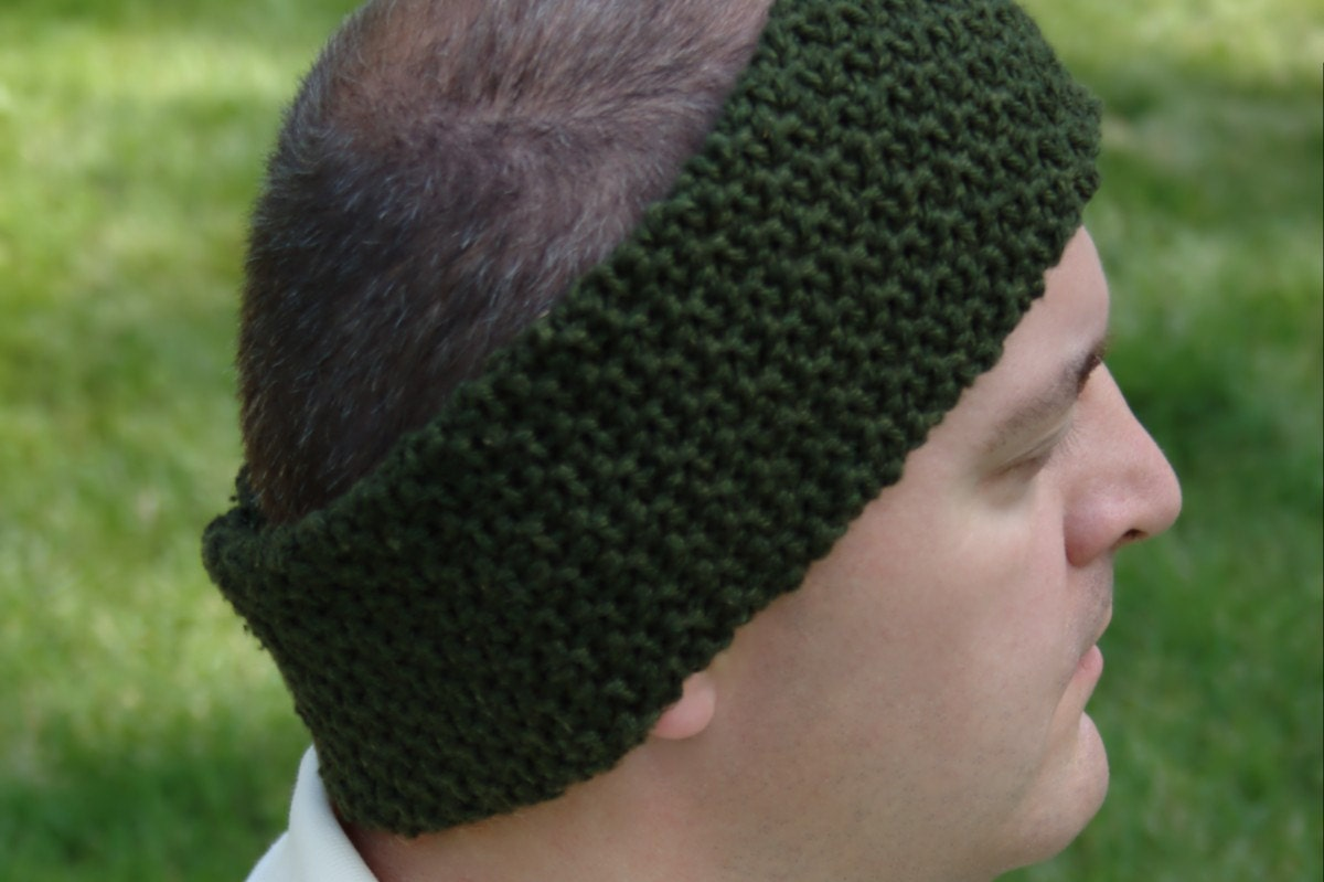 Crochet Pattern - Mens Ear Warmer Pattern Mens Neck Warmer Pattern ...