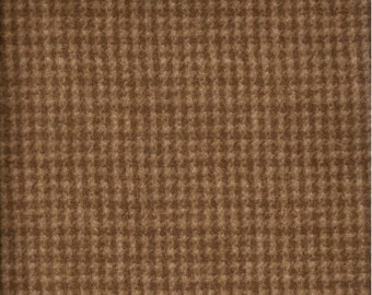 Maywood WOOLIES Brown Houndstooth MASF-18503-A2 Flannel Fabric BTY