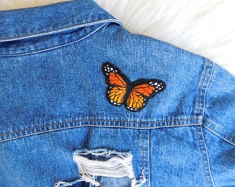 Butterfly Distressed Jacket