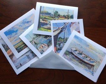 Chesapeake Bay Scenes Note Cards with Envelopes