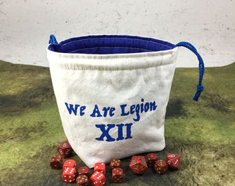 We Are Legion XII Dice Bag