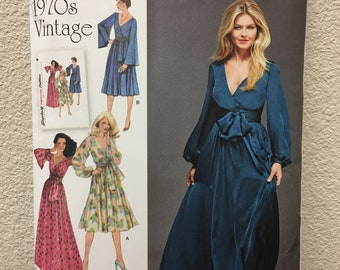 Sewing pattern for long dress