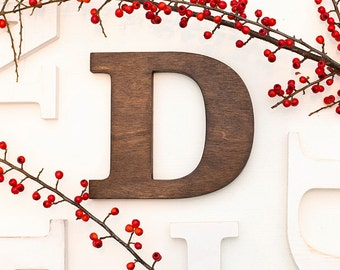 Rustic letters - wall letters - wooden letters - vintage letters - mantle decor letter - wood wall decor - letters - wood letter  home decor