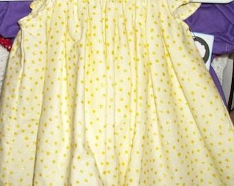 Yellow Bishop Dress size 3 months
