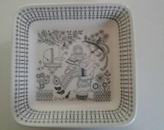"""ARABIA FINLAND """"Emilia"""" plate"""