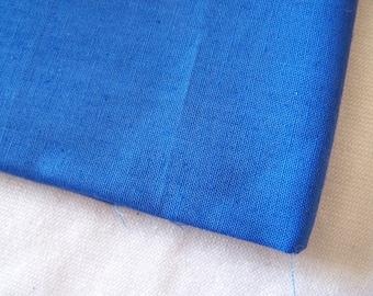 Fabric, cotton, plain, Royal Blue (T-05)