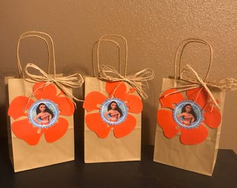 Moana candy bags/ party favor bags/ goodie bags/ loot bags
