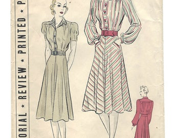 PWAP-0169 Vintage Pictorial Review Printed Pattern 9669 S14