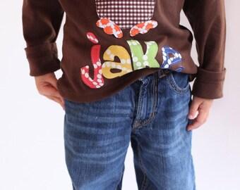 Thanksgiving Shirt, Turkey Shirt, Personalized Turkey Shirt, Thanksgiving Boy Shirt
