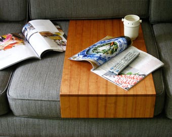 Couch Tray - custom made surface local native hardwood for your sofa eco