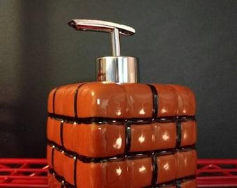 Super Mario Bros brick soap dispenser