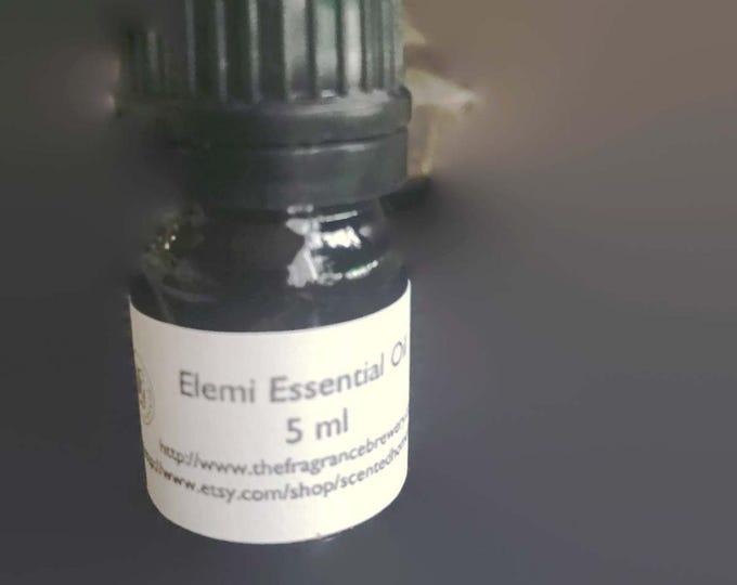Organic Elemi Essential Oils (Canarium Luzonicum), Pure Elemi Essential Oil, Therapeutic Grade, Respiratory Relief, Buy Pure Elemi