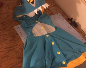 Blue Murloc Kigurumi Dress
