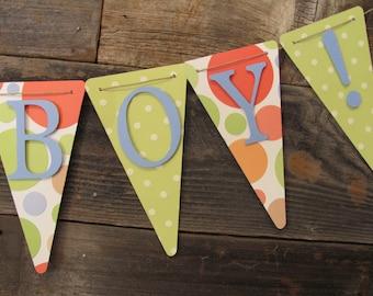 Its a Boy Banner, Baby Shower Banner, Baby Shower Decorations, Baby boy shower decorations