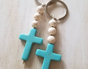 Baptism favors, mini rosary favors, cross keychain favors, first communion favors, confirmation favors, religious gift, spiritual gift, best