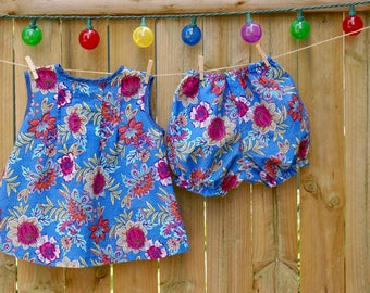 Adeline Dress & Bloomers
