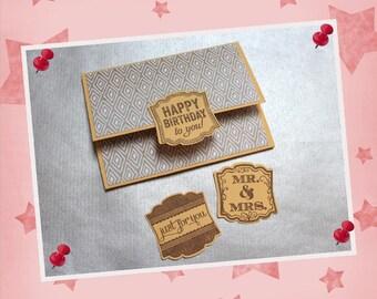 Gift box gift card