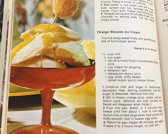 Family Circle Vintage Dessert Cookbook from 1978