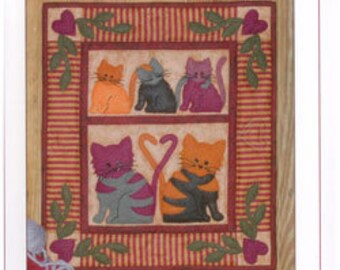 Cat Tails Wallhanging Quilt Kit From: Rachel's of Greenfield