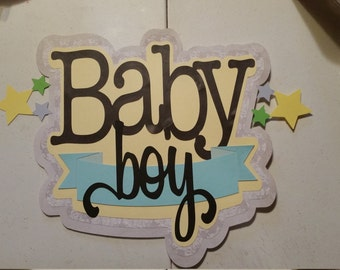 Very cute baby boy wall or door hanging!