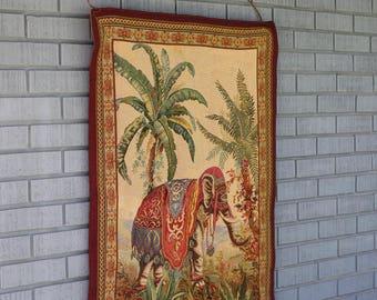 Le Elephant European Tapestry