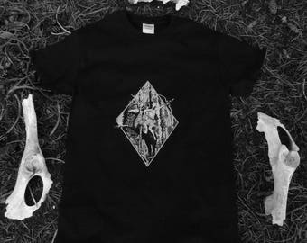 Occult Shirt | Wicca | Witchy | Nature Inspired | Esoteric | Nu Goth | Gothic Fashion | Pastel Goth | Tumblr Aesthetic || ARTEMIS