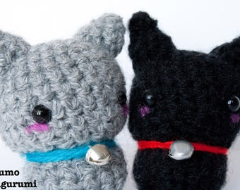 Gatto - Amigurumi - Neko - Cat - Peluche - Kawaii Plush - Crochet - Uncinetto - Morbido