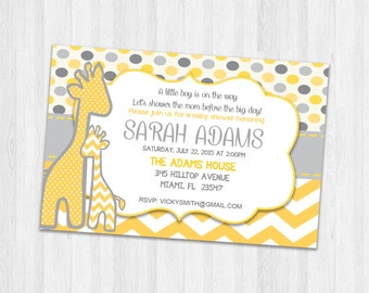 Baby shower invitations, Printable Baby shower invite, Party invitations, Baby shower Party