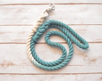 Rope Dog Leash/Lead: All Natural Cotton Rope Dog Leash