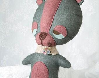 Teddy Bear, Bear Plush, Bear Soft Toy, Bear Toy, kids Plush, Teddy Bear Toy, Stuffed Animal, Stuffed Bear, baby girl gift, nursery gift