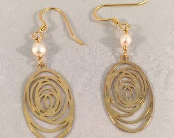 Pearl, Drop Earrings